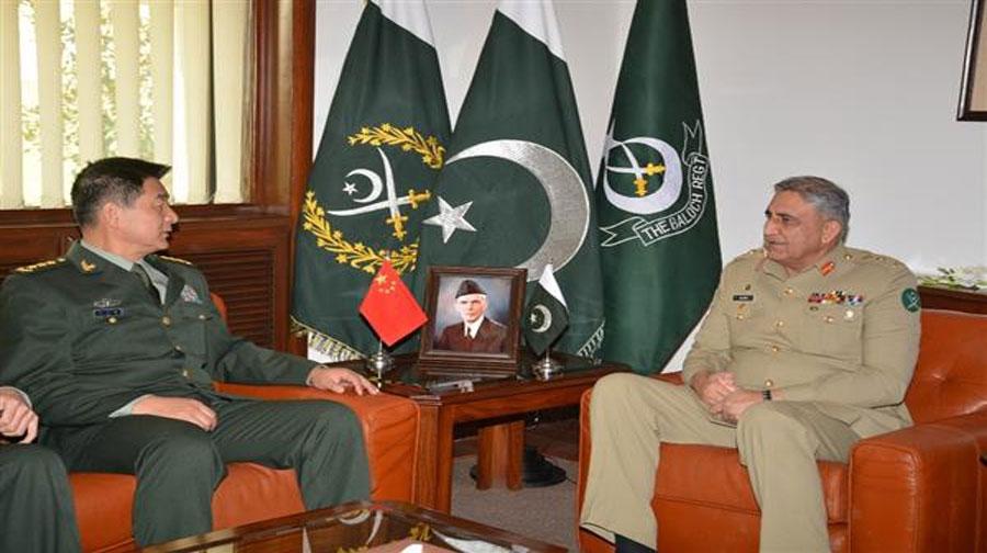 Photo of آرمی چیف سے چینی فوج کے کمانڈر کی ملاقات، سلامتی امور پر تبادلہ خیال