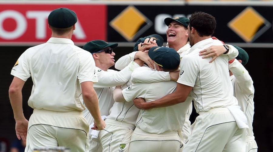 Photo of برسبین ٹیسٹ میں دلچسپ مقابلے کے بعد آسٹریلیا 39 رنز سے کامیاب
