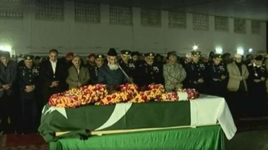 Photo of جنید جمشید کی نماز جنازہ نور خان ایئر بیس پر ادا کردی گئی