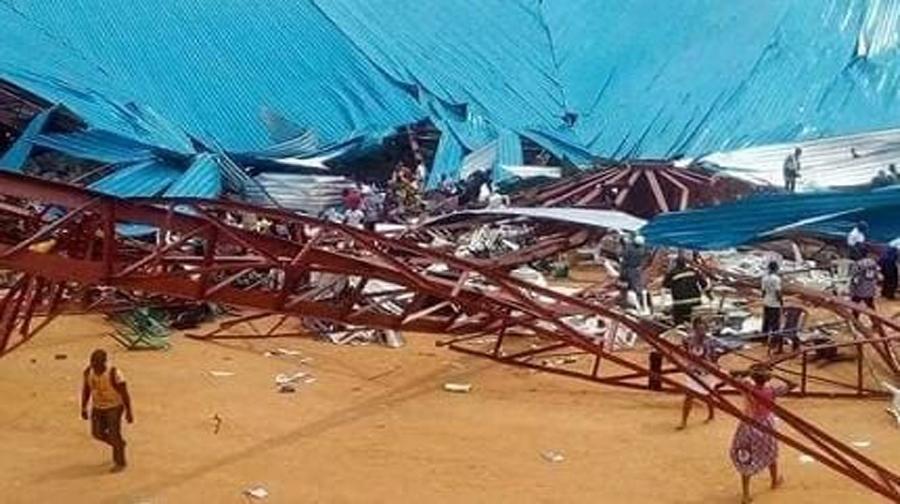 Photo of نائجیریا میں چرچ کی چھت گرنے سے60افراد ہلاک