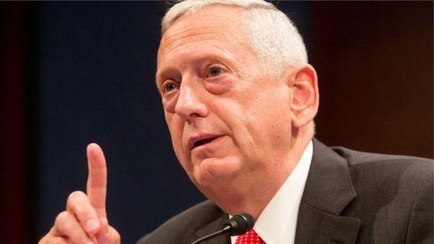 Photo of امریکی وزیرِ دفاع کے لیے جنرل میٹس کی نامزدگی