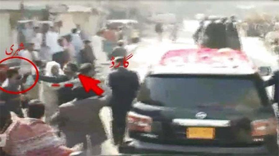 Photo of بلاول بھٹوزرداری کے محافظ نے صحافی کو تشدد کا نشانہ بنا ڈالا