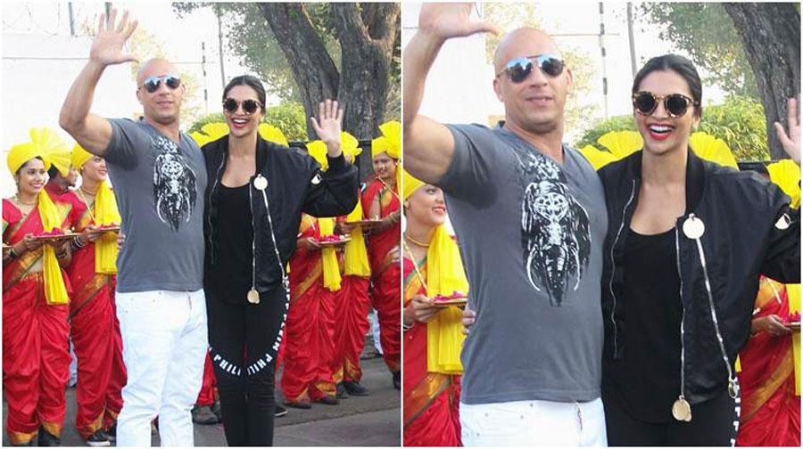 Photo of ہالی ووڈ اداکار وین ڈیزل دیپیکا کے لیے بھارت پہنچ گئے