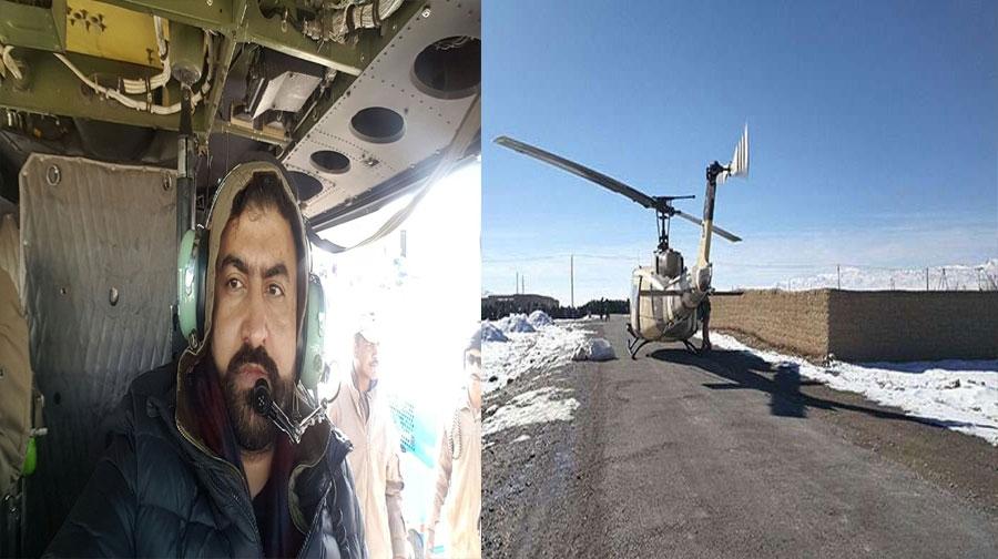 Photo of وزیرداخلہ سرفراز بگٹی کے ہیلی کاپٹر کی کریش لینڈنگ