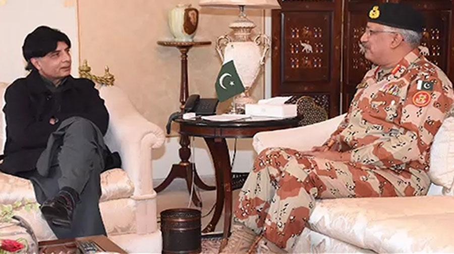 Photo of کراچی میں امن و امان کے قیام کیلیے رینجرز کی معاونت جاری رہے گی، چوہدری نثار