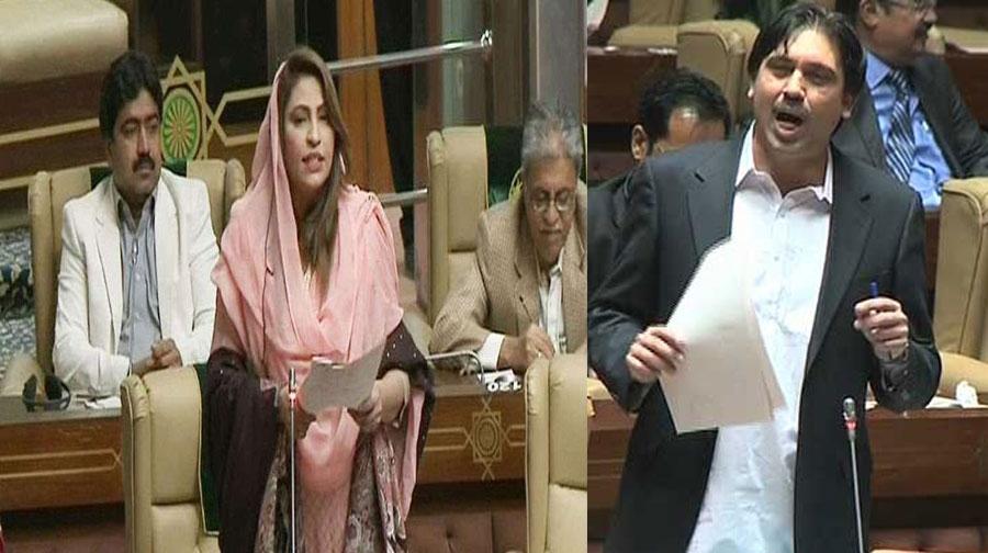 Photo of سندھ اسمبلی: نصرت سحر عباسی اور امداد پتافی کے درمیان سخت جملوں کا تبادلہ