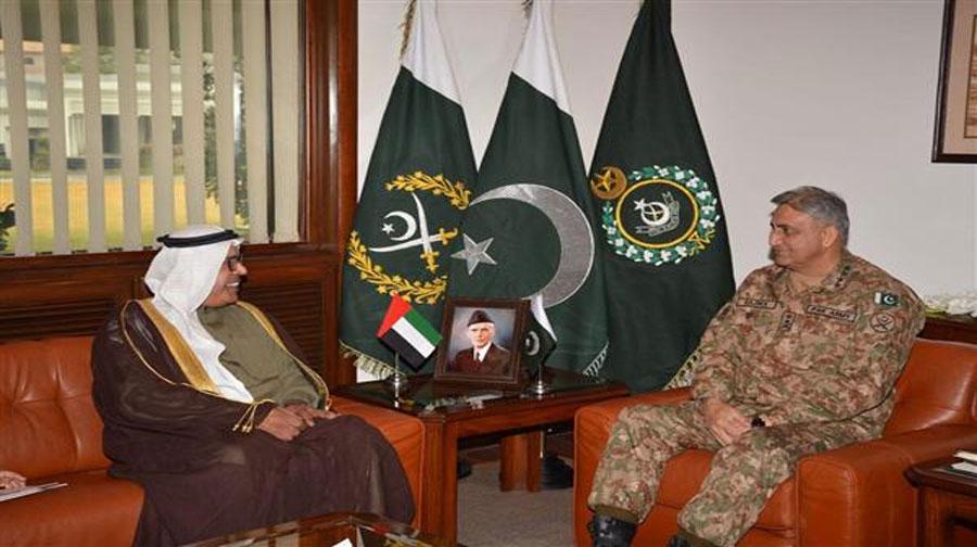 Photo of آرمی چیف کی یو اے ای کے سفیر سے ملاقات
