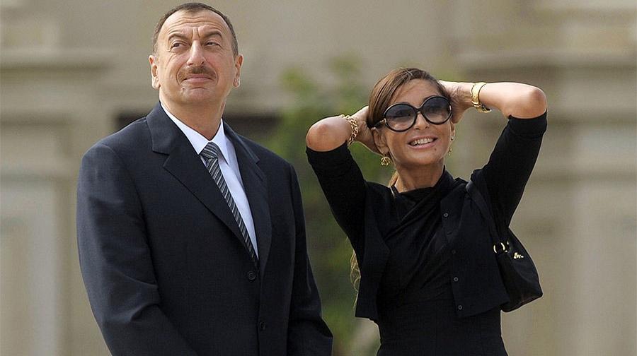 Photo of آذربائیجان کے صدر نے اپنی بیوی کو نائب صدر تعینات کر دیا