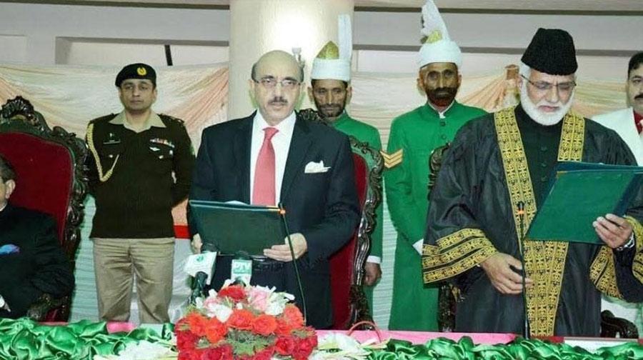 Photo of عدالت میں نمازوں کی امامت کروں گا، چیف جسٹس آزاد کشمیر