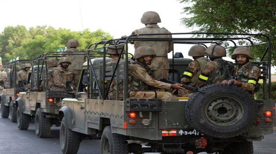 Photo of ڈی آئی خان میں دہشتگردوں کے خلاف فورسز کی کارروائی، میجر اور کیپٹن زخمی