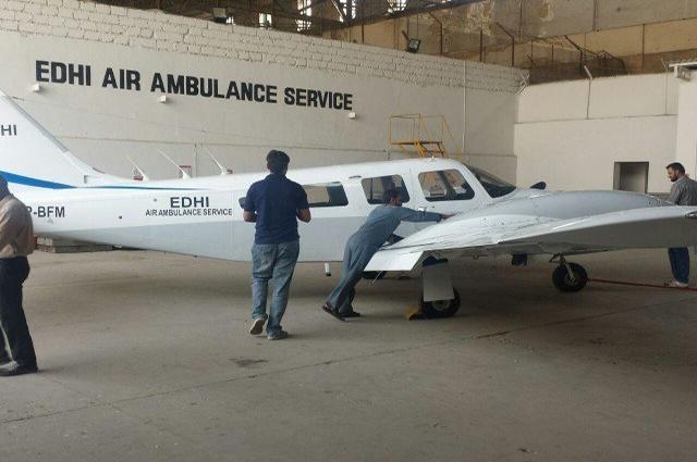 Photo of ایدھی فاؤنڈیشن کا ایئرایمبولینس سروس بحال کرنے کا اعلان