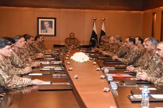 Photo of افغانستان دھمکیوں اور الزامات کے بجائے اپنے اندرونی مسائل کی نشاندہی کرے، کور کمانڈرز