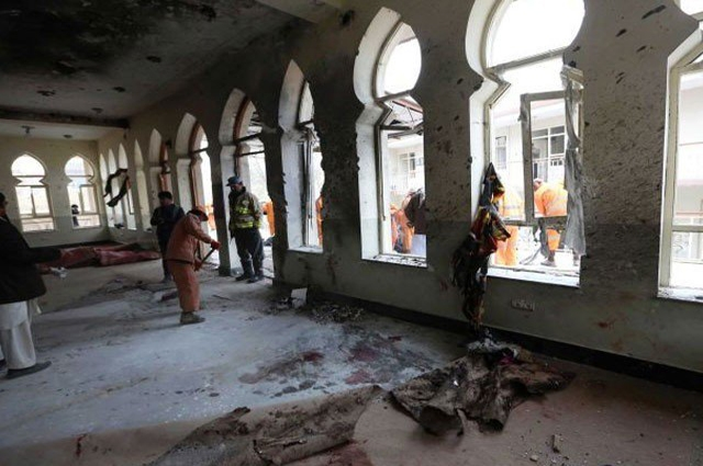 Photo of کابل میں مسجد پر خود کش حملے میں 3 افراد جاں بحق