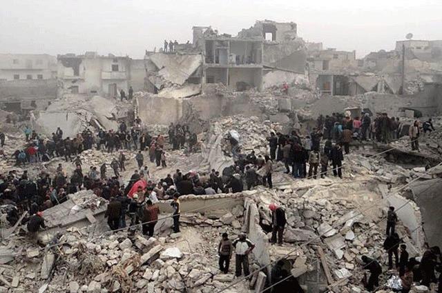 Photo of شامی شہر ادلب میں خودکش دھماکا، 37 افراد ہلاک