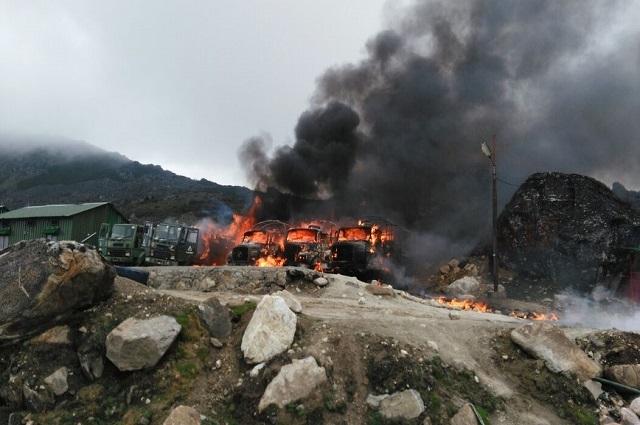 Photo of چینی فوج کا بھارتی چیک پوسٹوں پر حملہ، 158 بھارتی فوجی ہلاک