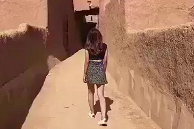 Photo of سعودی عرب: اسکرٹ کی ویڈیو منظرعام آنے پر خاتون گرفتار