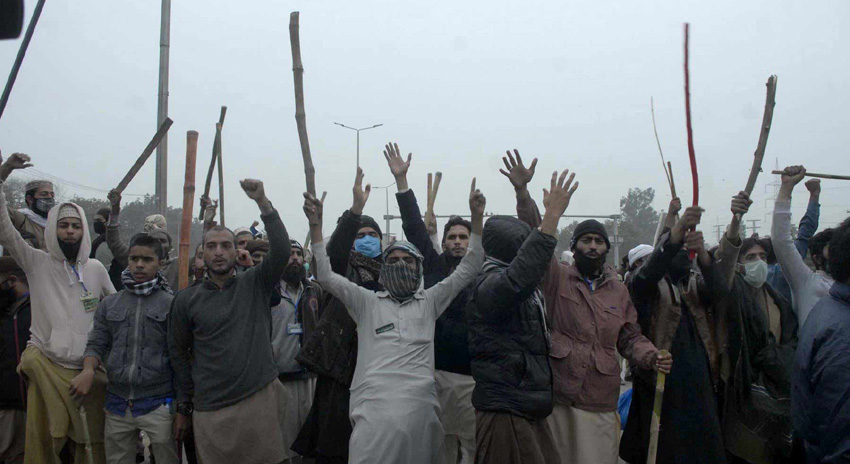 Photo of اسلام آباد دھرنا، مظاہرین کی سپلائی لائن بند کرنیکا فیصلہ