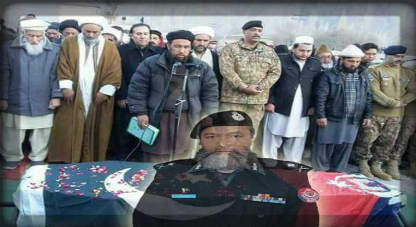 Photo of پشاور خودکش دھماکے میں شہید ہونیوالے اے آئی جی کو اسکردو میں سپردخاک کردیا گیا