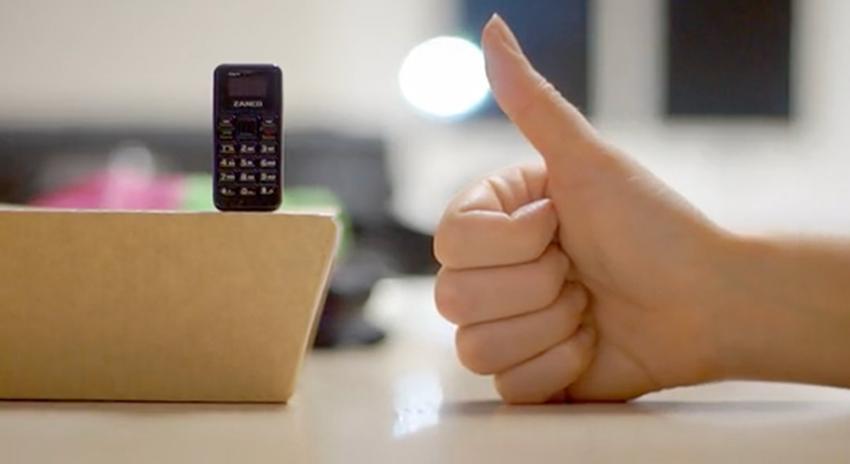 Photo of 13 گرام وزن کا حامل دنیا کا سب سے چھوٹا موبائل فون