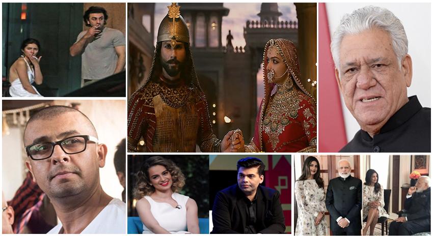 Photo of سال 2017 : بھارتی فلم نگری میں سر اٹھانے والے تنازعات
