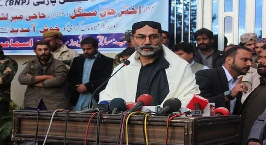 Photo of بلوچستان کے مسئلے کا سیاسی حل نکالا جائے، حاجی لشکری رئیسانی
