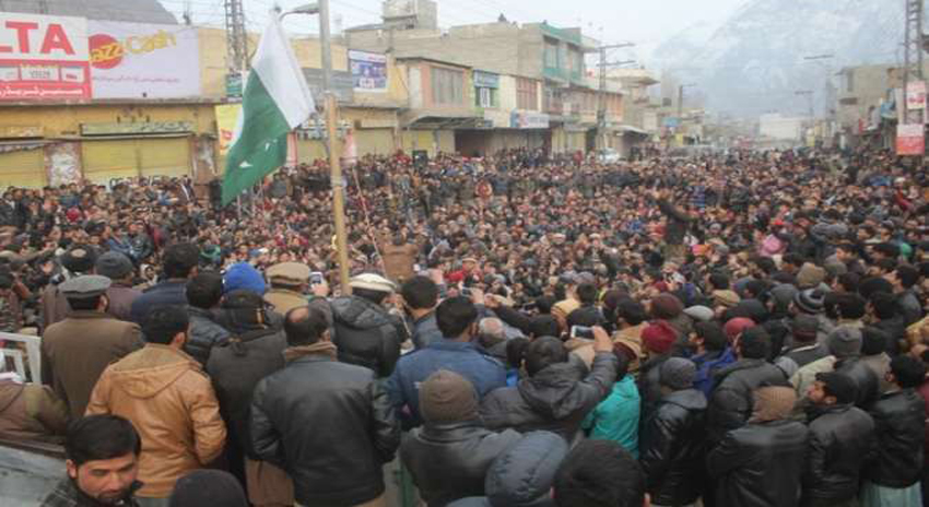 Photo of گلگت بلتستان میں دھرنا تیرہویں روز میں داخل، ٹیکس خاتمے کا نوٹیفکیشن ملنے تک دھرنا جاری رکھنے کا اعلان