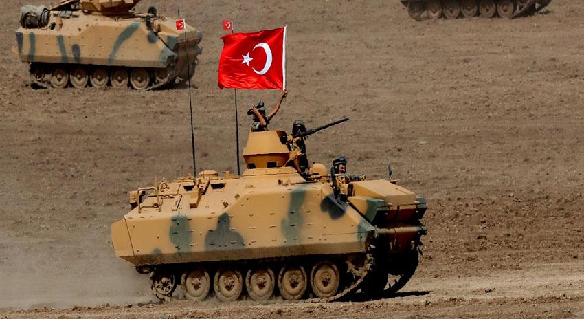 Photo of ترک فوج نے شام میں زمینی آپریشن بھی شروع کردیا