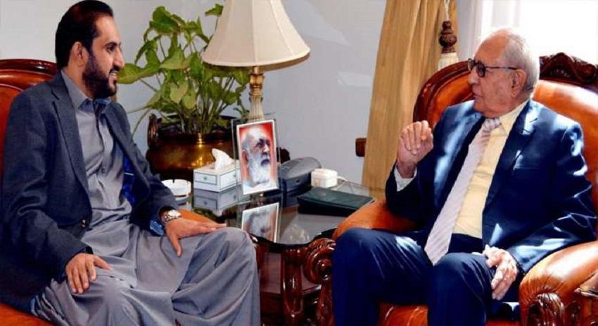 Photo of محمد خان اچکزئی سے میر عبدالقدوس بزنجو کی ملاقات