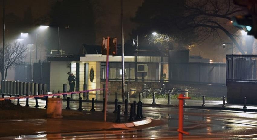 Photo of امریکن سفارتخانے پر خودکش حملہ
