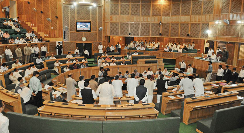 Photo of مقبوضہ کشمیر اسمبلی میں پاکستان زندہ باد کے نعرے