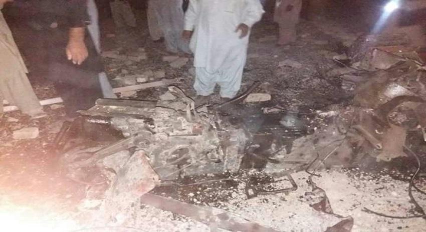 Photo of بلوچستان کے اہم شہر میں سیاسی رہنما کے گھر پہ امریکی ڈرون حملہ، درجنوں افراد ہلاک و زخمی