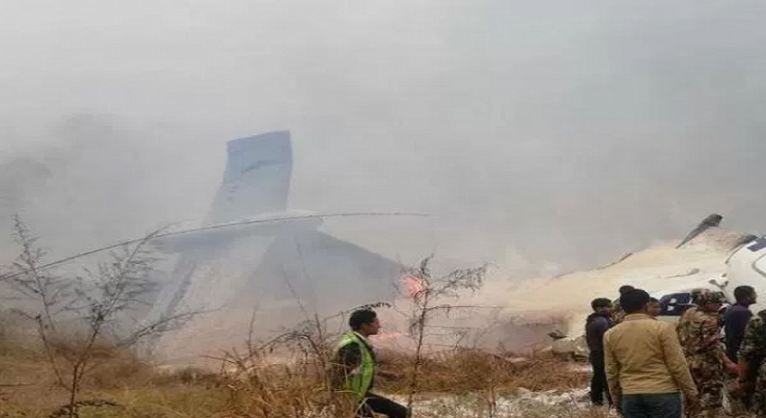 Photo of نیپال کا خونی ائیرپورٹ ایک اور مسافر طیارہ نگل گیا، 50 افراد ہلاک