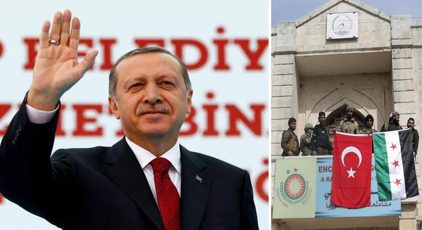 Photo of ترک صدر رجب طیب اردوغان نے شامی شہر عفرین پر قبضہ کا اعلان کردیا