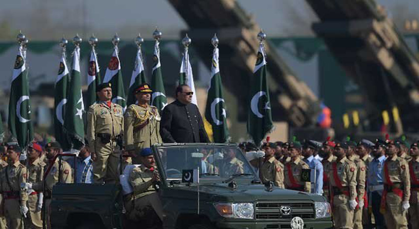 Photo of یوم پاکستان کی مناسبت سے اسلام آباد میں مسلح افواج کی پریڈ