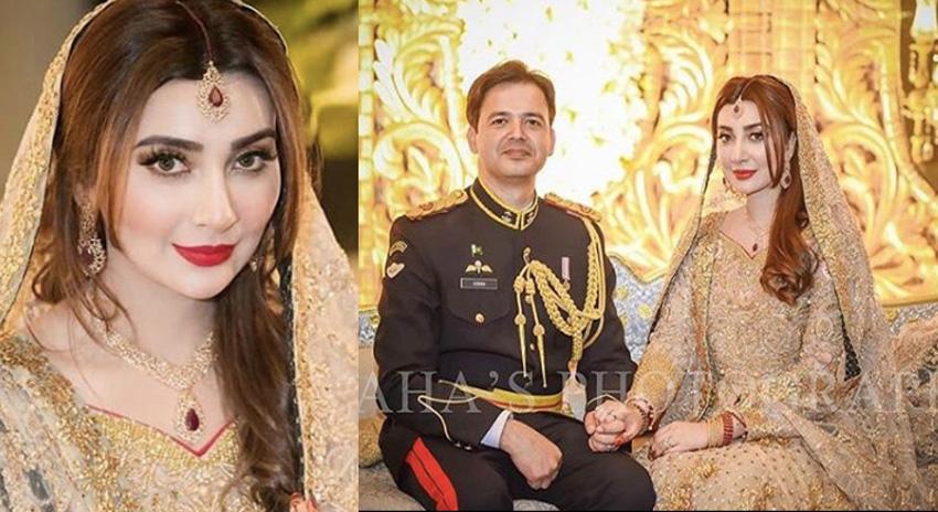 Photo of اداکارہ عائشہ خان کے شوہر میجر عقبہ نے ولیمے کی تقریب میں کون سے کپڑے پہنے؟ تصاویر نے سوشل میڈیا پر ایسی دھوم مچائی کہ ہر کوئی تعریف کرنے پر مجبور ہو گیا