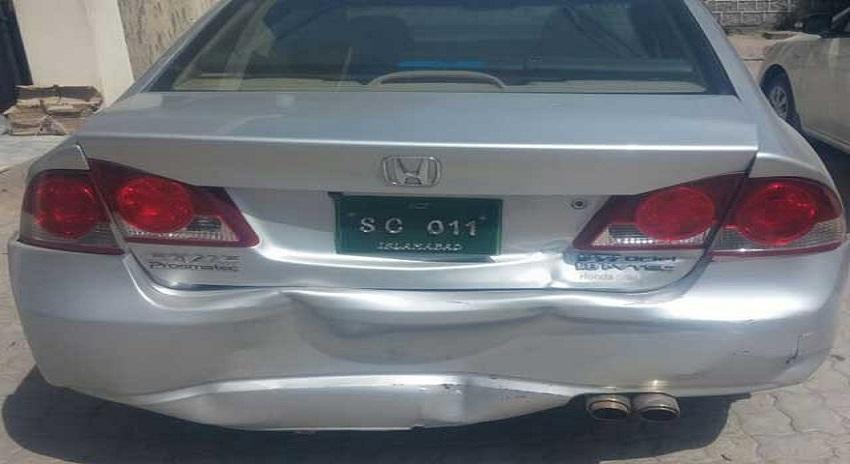 Photo of مانسہرہ میں چیف جسٹس پاکستان کے قافلے کو حادثہ؛ کئی گاڑیاں ٹکرا گئیں