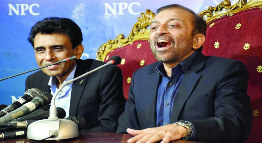 Photo of فاروق ستار کا خالد مقبول کو فون، کے الیکٹرک کے خلاف مل کر احتجاج کی دعوت