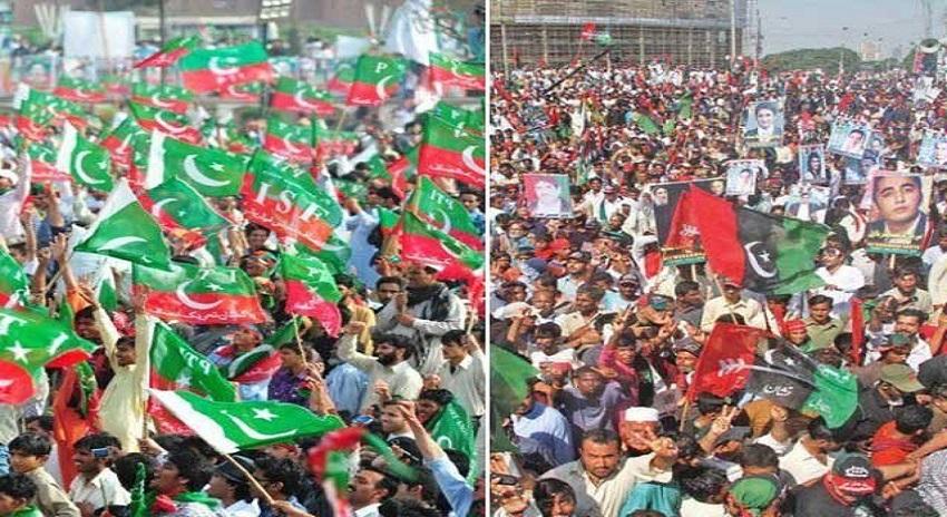 Photo of پیپلزپارٹی آج کراچی اور تحریک انصاف لاہور میں سیاسی قوت کا مظاہرہ کرے گی