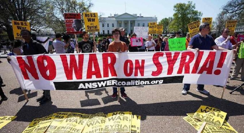Photo of شام کیخلاف امریکی جارحیت پر دنیا بھر میں احتجاج