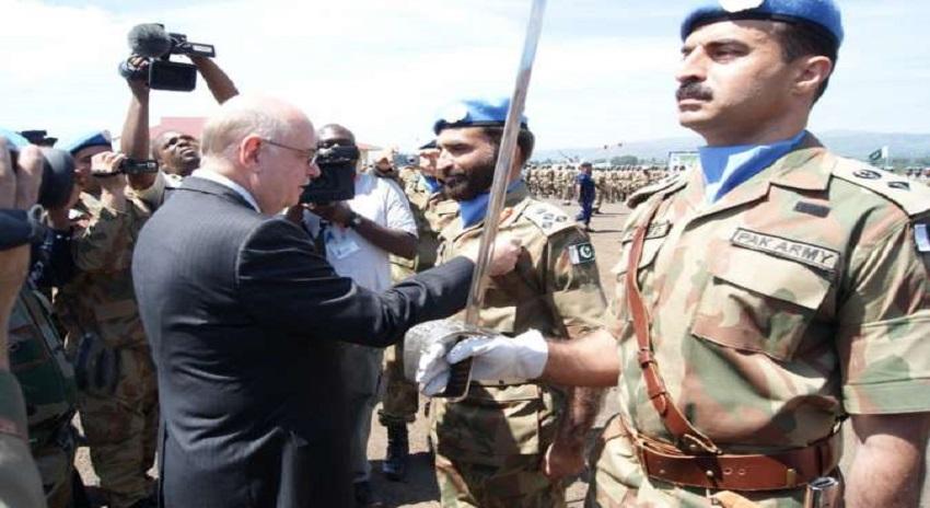 Photo of شہید قیصر عباس، شہید یاسر عباس سمیت 7 پاکستانی فوجیوں کیلئے اقوام متحدہ میڈل کا اعلان
