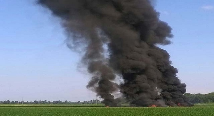 Photo of الجزائر میں فوجی طیارہ گر کر تباہ، 100 اہلکار ہلاک