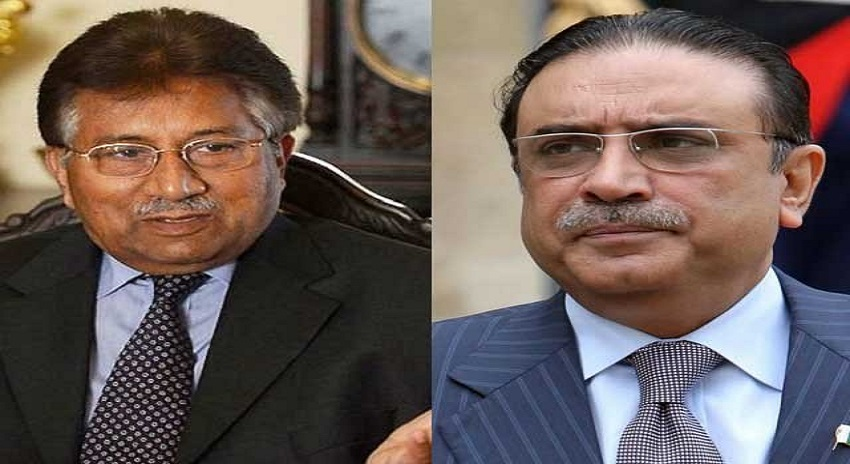 Photo of مشرف اور زرداری کیلئے بری خبر، این آر او سے متعلق درخواست پر دونوں کو نوٹس جاری