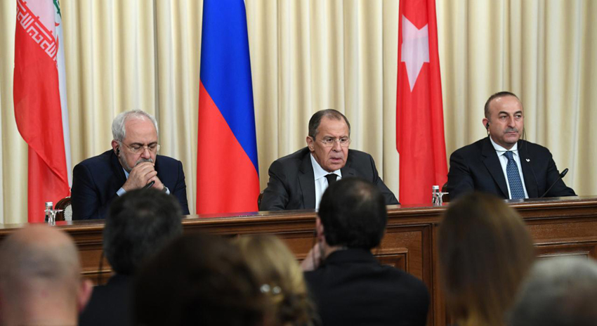 Photo of ایران، روس اور ترکی کا داعش اور النصرہ فرنٹ کے خلاف جنگ جاری رکھنے کا اعلان