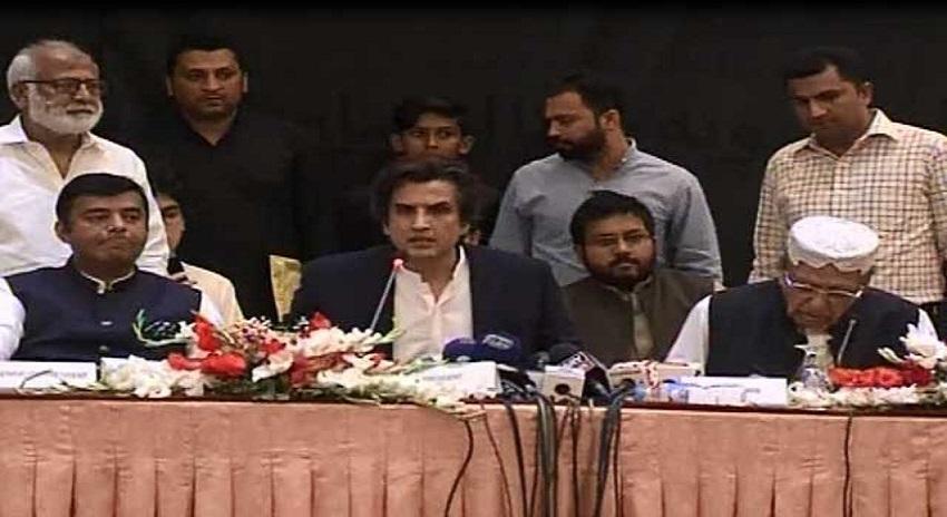 Photo of ن لیگ کو بڑا دھچکا، 6 ارکان اسمبلی کا پارٹی چھوڑ کر 'جنوبی پنجاب صوبہ محاذ' بنانے کا اعلان