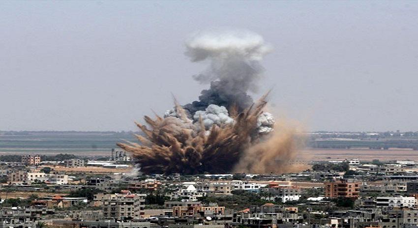 Photo of اسرائیلی فضائیہ کی غزہ پر پھر بمباری