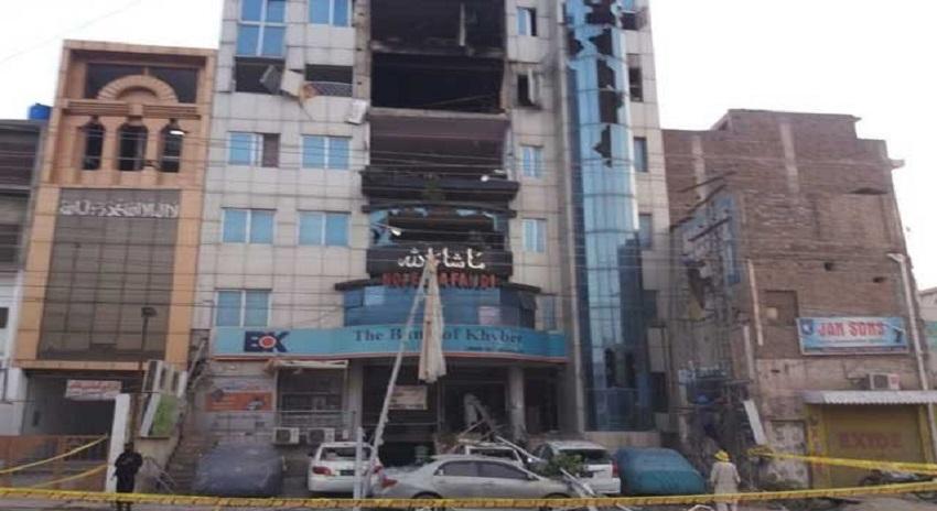 Photo of پشاور، مصروف ہوٹل میں دھماکہ، 4 افراد جاں بحق، متعدد زخمی