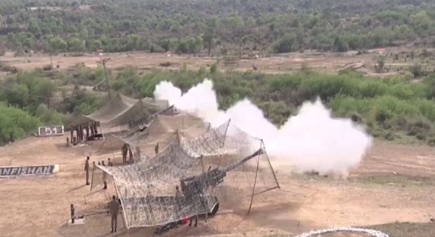 Photo of افواج پاکستان کی جنگی مشقیں، دشمن پہ ہیبت طاری