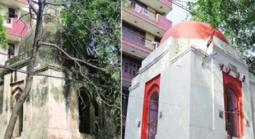 Photo of مسلم کشی جاری، دہلی کا قبرستان مندر میں تبدیل، مورتیاں نصب کر دی گئیں