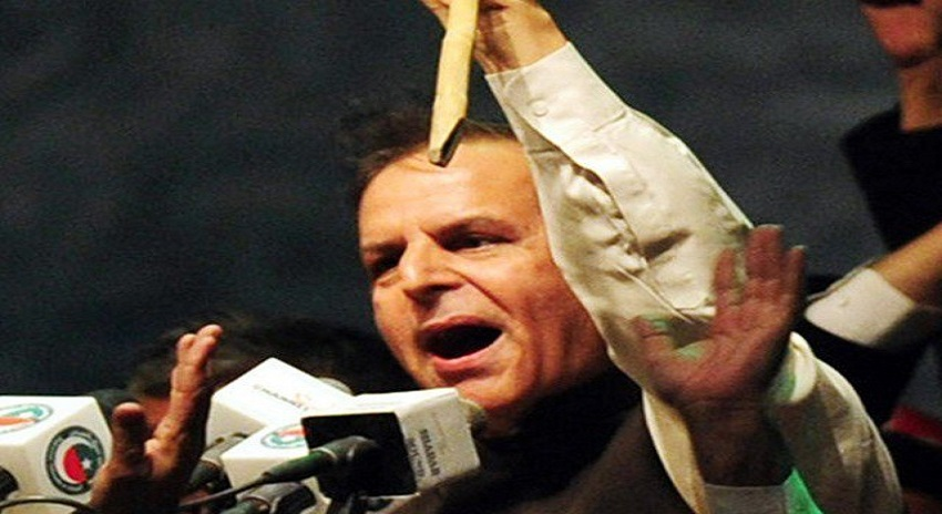Photo of جاوید ہاشمی نے مسلم لیگ (ن) میں دوبارہ شمولیت اختیار کرلی