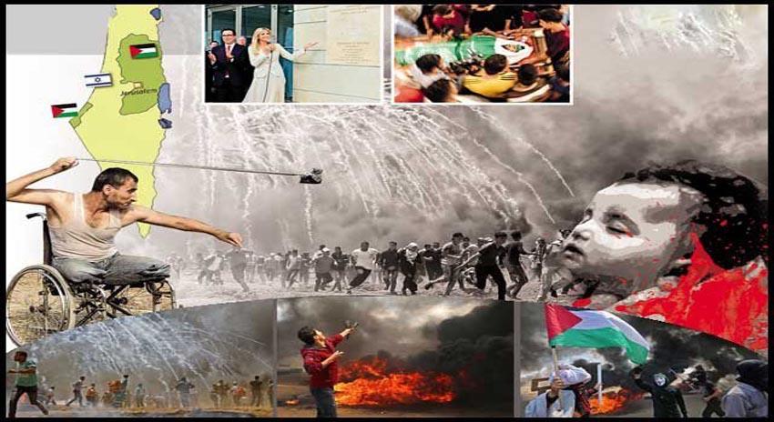 Photo of فلسطینیوں خاموش! مجھے اسرائیلی بندوقوں کی موسیقی سُننا ہے